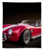 Ac Cobra Fleece Blanket