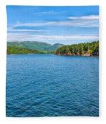 Acadia Beauty Fleece Blanket