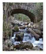 Acadia National Park Bridge Fleece Blanket