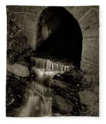 Acadia Waterfall Fleece Blanket