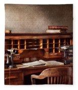 Accountant - Accounting Firm Fleece Blanket
