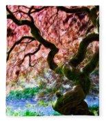 Acer Abstract Fleece Blanket