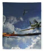 Aces High Fleece Blanket