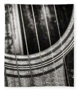 Acoustically Speaking Fleece Blanket
