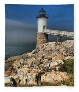 Across The Seas Fleece Blanket