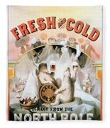 Ad Beer, C1877 Fleece Blanket