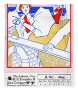 Ad Lakeside Press, 1895 Fleece Blanket