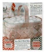 Ad Purina, 1919 Fleece Blanket