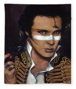 Adam Ant Fleece Blanket