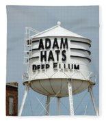 Adam Hats In Deep Ellum Fleece Blanket