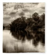 Adda River 2 Fleece Blanket