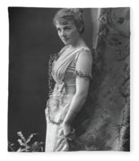 Adelaide Detchon (1868-?) Fleece Blanket