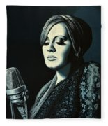 Adele 2 Fleece Blanket