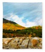 Adirondack Autumn Fleece Blanket