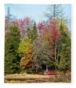 Adirondack Color II Fleece Blanket