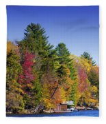 Adirondack Color Ix Fleece Blanket