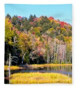 Adirondack Color V Fleece Blanket