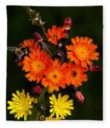 Adirondack Flowers Fleece Blanket