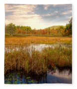 Adirondack Pond Fleece Blanket