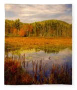Adirondack Pond II Fleece Blanket
