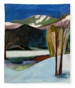 Adirondacks Fleece Blanket