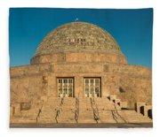 Adler Planetarium Chicago Il Fleece Blanket