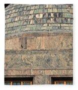 Adler Planetarium Signage Fleece Blanket