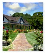 Adobe Alamo Pintado Rideau Vineyards Fleece Blanket
