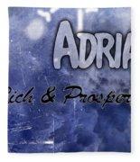 Adrian - Rich And Prosperous Fleece Blanket