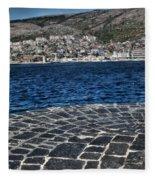 Adriatic Sea Fleece Blanket