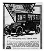 Ads Automobile, 1912 Fleece Blanket