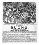 Advertisement: Buchu, 1871 Fleece Blanket
