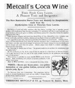 Advertisement: Coca Wine Fleece Blanket