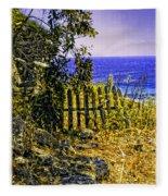 Aegean View Fleece Blanket