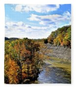 Aerial View Fleece Blanket
