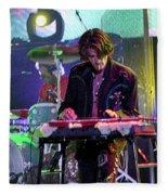 Aerosmith-joe Perry-00124 Fleece Blanket