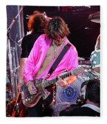 Aerosmith - Joe Perry -dsc00121 Fleece Blanket