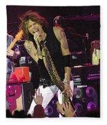 Aerosmith - Steven Tyler - Dsc00072 Fleece Blanket