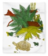 Aesop: Tortoise & The Hare Fleece Blanket
