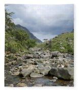 Afon Nant Peris Fleece Blanket