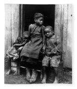 African American Children Fleece Blanket