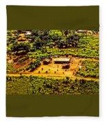 African Land Fleece Blanket