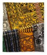 African Prints Fleece Blanket