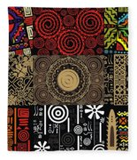 Afroecletic II Fleece Blanket