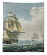 After The Battle Of Trafalgar Fleece Blanket