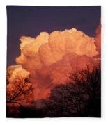 After The Storm Fleece Blanket