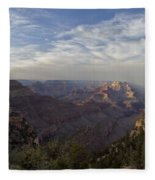 Afternoon At The Canyon Fleece Blanket