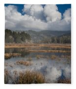 Afternoon Reflections Fleece Blanket
