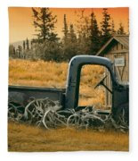 Afternoon Rest Fleece Blanket