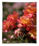 Afternoon Roses Fleece Blanket
